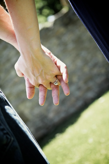 Tracy and Chad Engagement Photography at Lockridge Park