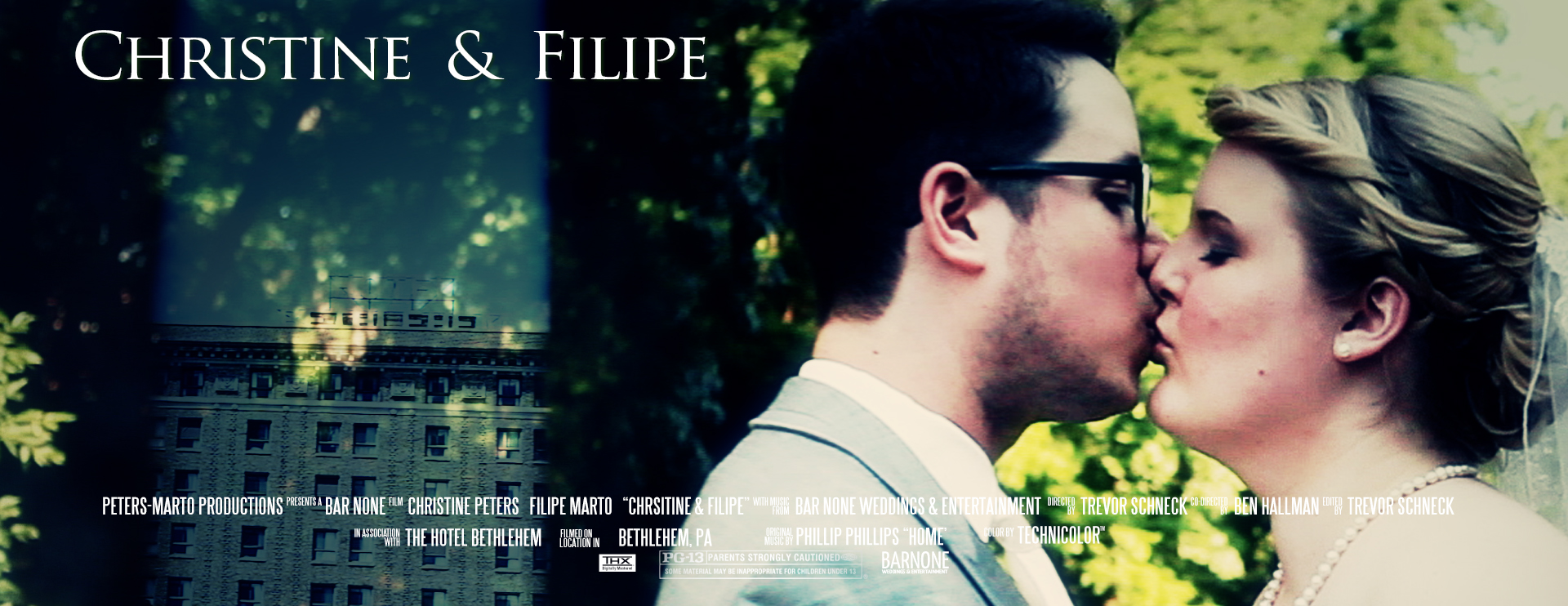 Thumbnail Movie Poster - Christine and Filipe