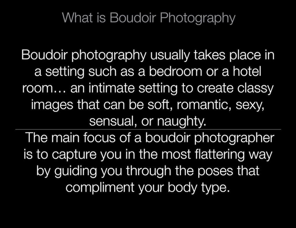 Boudoir Photographer 501