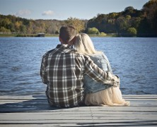 Maggie and Chris at Green Lane Park for Engagement Photography