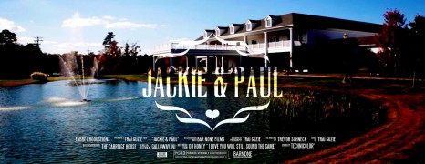 Jackie & Paul – The Carriage House – Wedding Highlight Film – Galloway NJ