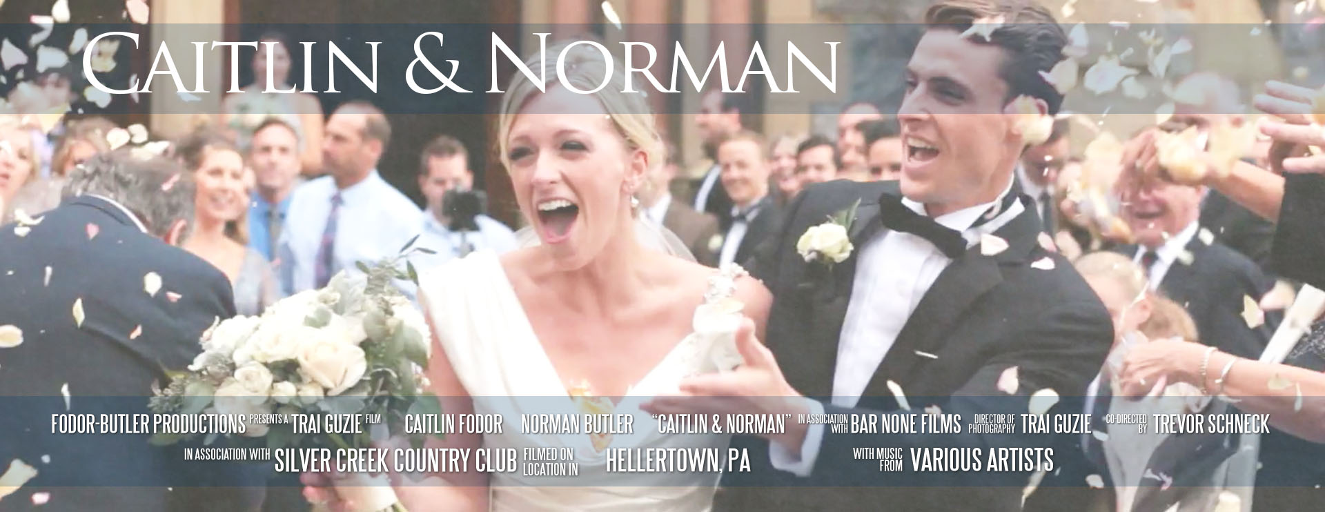 Caitlin Norman Silver Creek Country Club Signature Edit Wedding Film Bethlehem PA