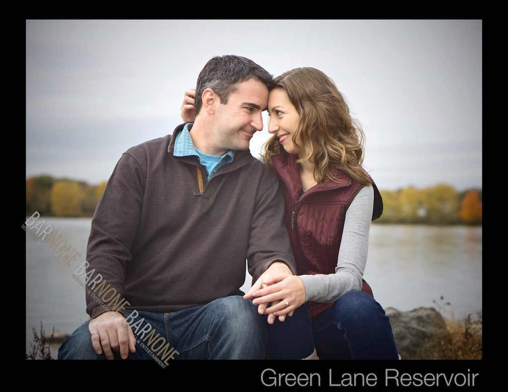 Green Lane Park Engagement Photography - Bar None Photography 2007