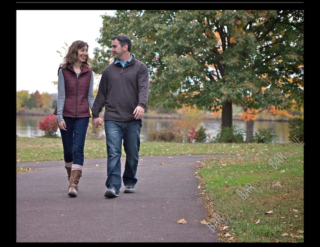 Green Lane Park Engagement Photography - Bar None Photography 2010