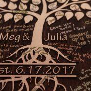 Meg and Julia's wedding photography at Monterre Vineyards