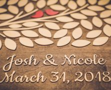 Nicole and Josh's Wedding Photography at Allentown Brew Works