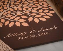 Amanda and Tony  – Wedding at The Grove at Kempton